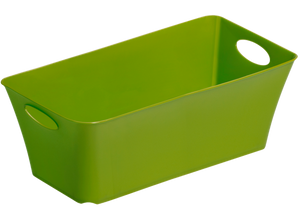 Boxania green storage basket