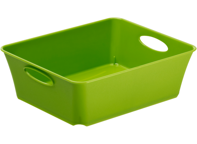 Rotho Plastic Storage Baskets 1L