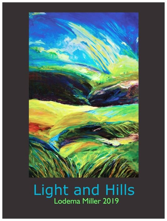 Light and Hills (2) Poster