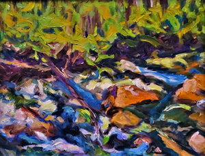 Rawley Springs Oil Painting