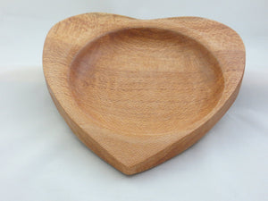 Florida Lacewood Heart Bowl