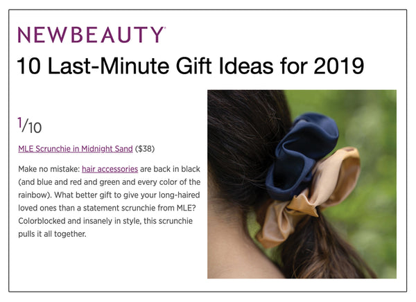 MLE's Midnight Scrunchie in NewBeauty