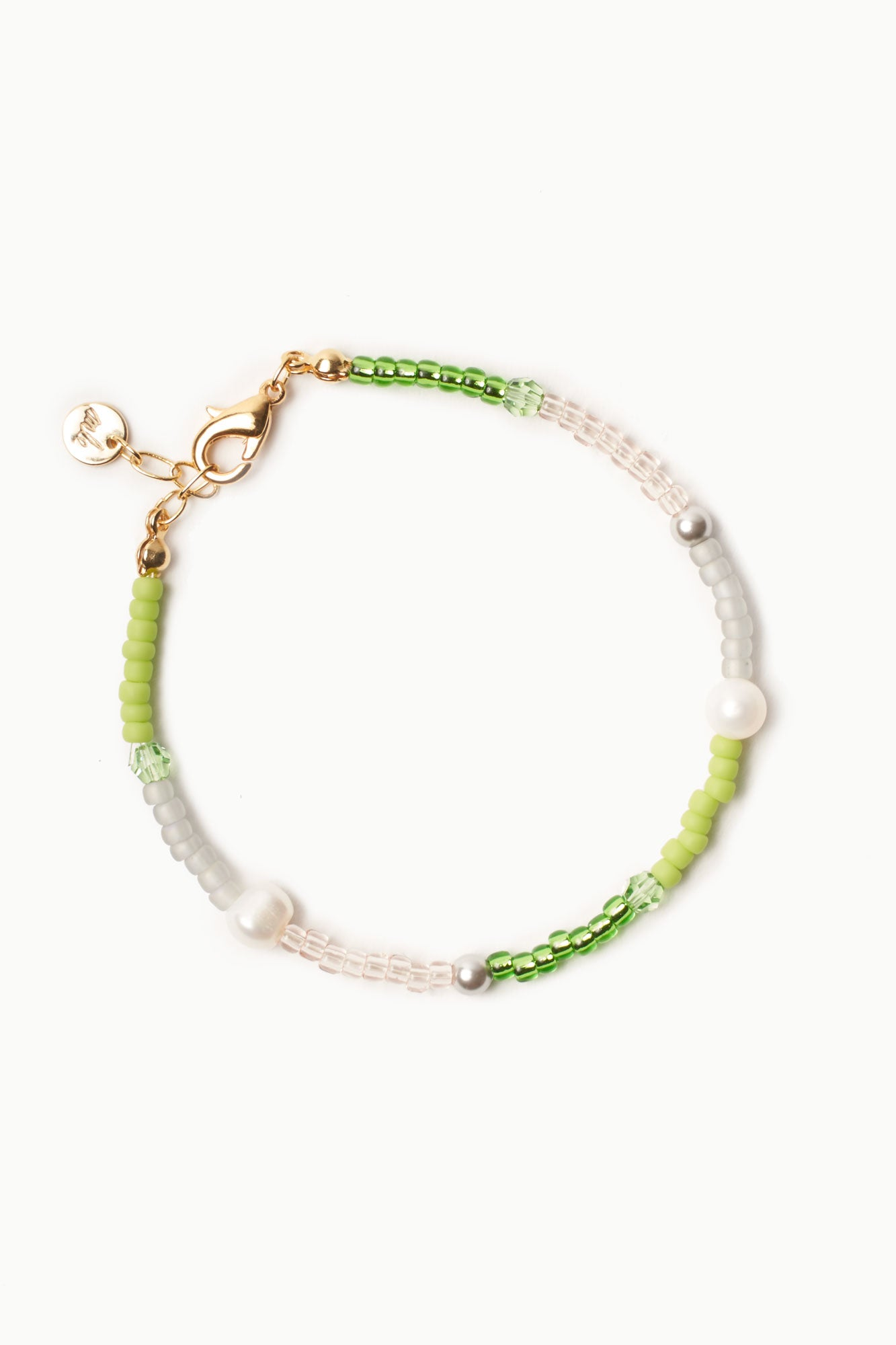 Fête Bracelet in Lime