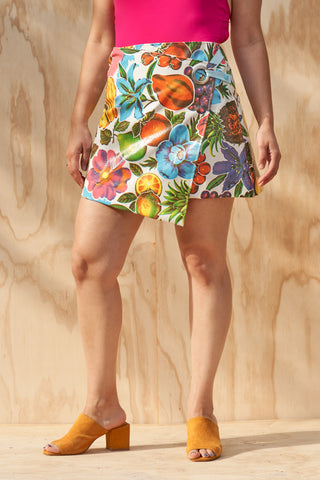 Vinyl Fruit Skirt