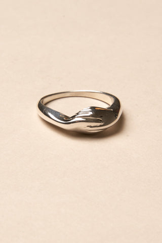 Gentlewoman's Agreement™ Ring in Sterling Silver Production Sample