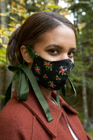 Cotton Face Mask in Posy