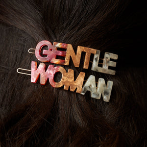Gentlewoman's Agreement® Hair Clip Set in Coral