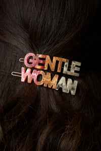 Gentlewoman's Agreement™ Hair Clip Set in Coral