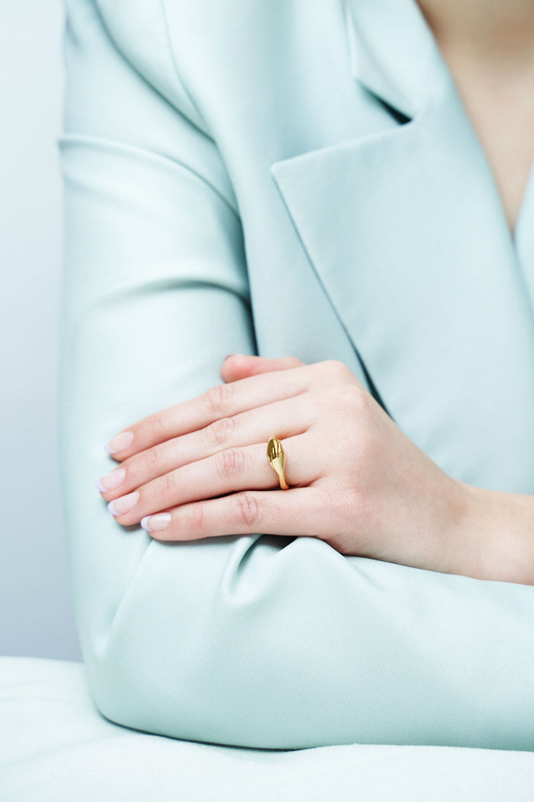 Gentlewoman's Agreement® Ring in Gold Vermeil
