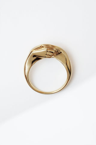 Gentlewoman's Agreement™ Ring in Gold Vermeil