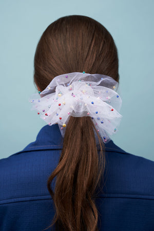 Birthday Cake Scrunchie