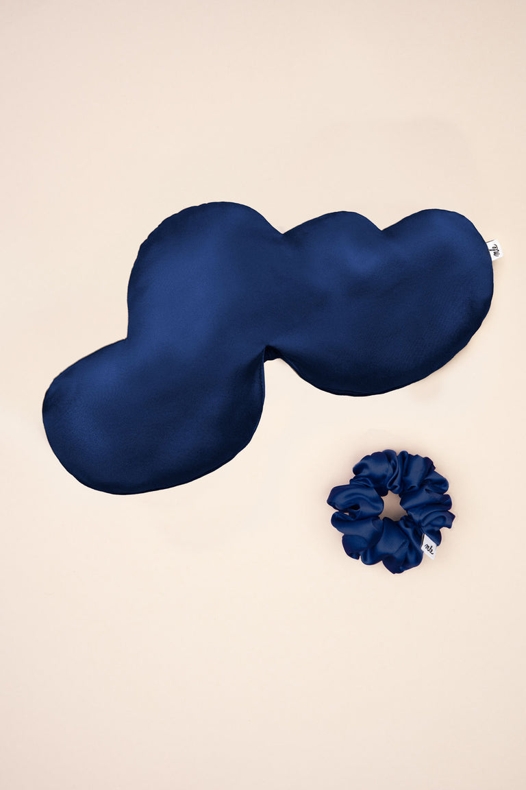 Cloud Sleep Mask in Midnight