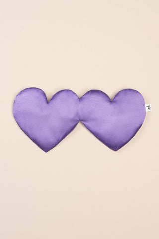 Heart Sleep Mask in Violet