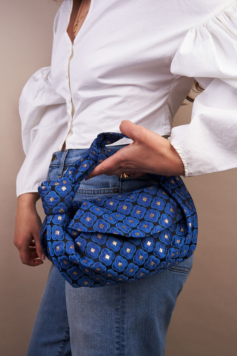 Nodo Mini Clutch in Lapis