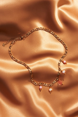 Aphrodite Figaro Chain Necklace