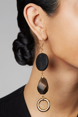 A Close-Up View of the Caldo Earrings