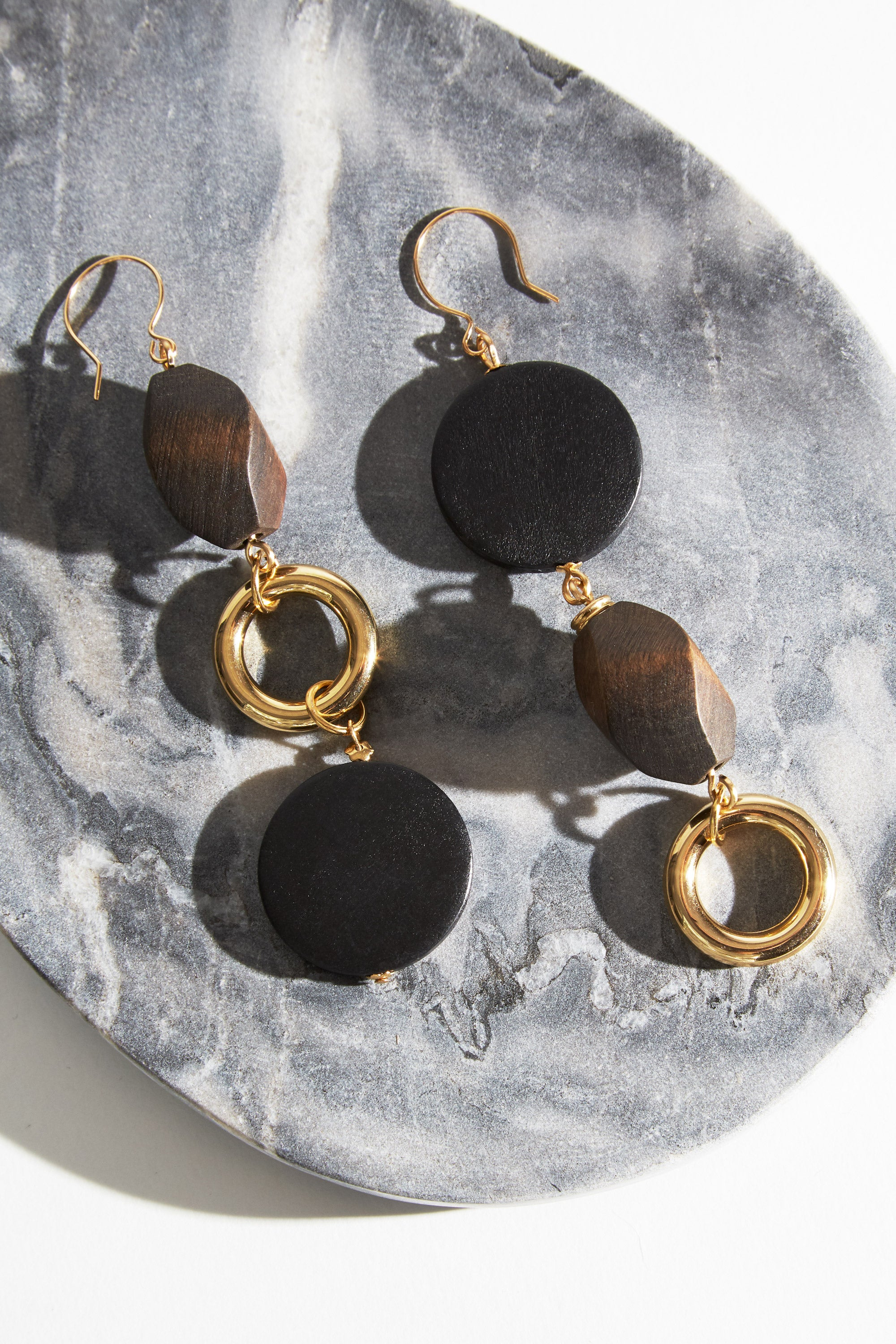 The Gold-plated Caldo Earrings