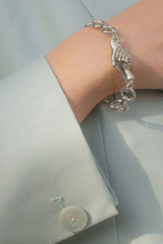 A Gentlewoman's Agreement Bracelet in Silver
