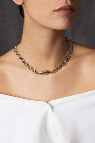 Gentlewoman's Agreement™ Necklace in Silver