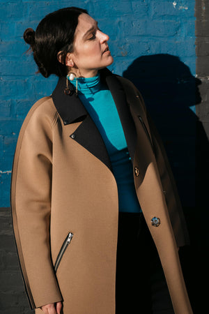 The MLE L3 Coat in Camel
