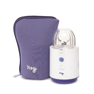 Itsy Blitz portable baby food and weaning blender complete with wipeable itsy neoprene carry case bag for weaning adventures here there & everywhere!