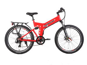 X-Treme X-Cursion Elite Max 36 Volt Electric Folding Mountain Bicycle