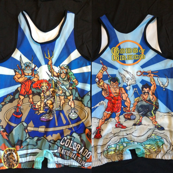 "Colorado National Team ""Gods of Greco"" singlet"