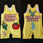Funky Flickr Eagles NJ Garden State singlet (yellow)