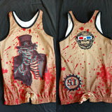 Zombie Uncle Sam singlet