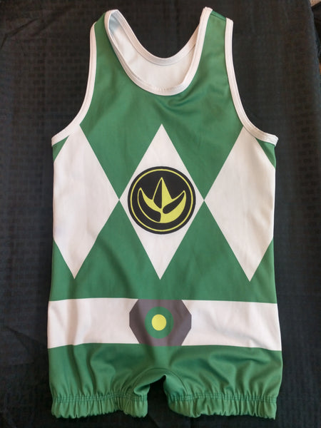 Green Ranger singlet [youth large]