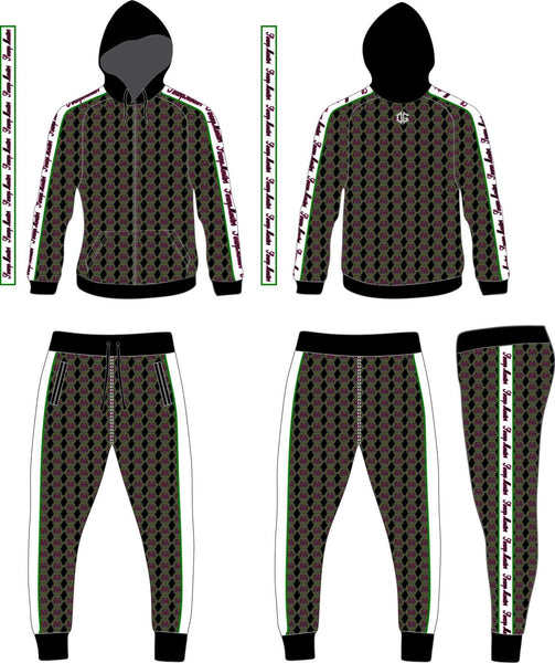 Swamp Monsters warmup set (hoodie and joggers)