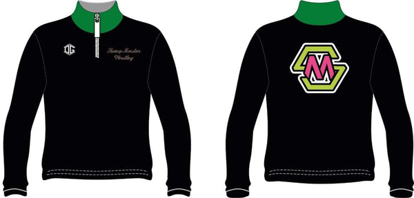 Swamp Monsters 1/4 zip