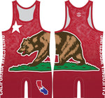California Wrestling singlet (red)