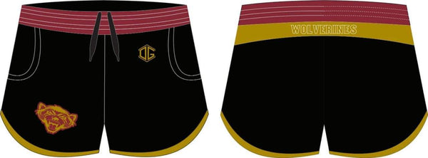 Tolleson HS yoga shorts