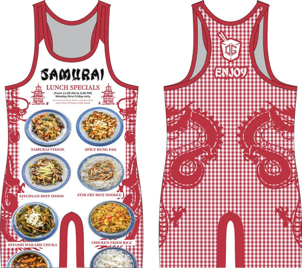 Samurai Lunch Specials singlet