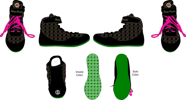 Swamp Monsters OG1 Wrestling Shoes