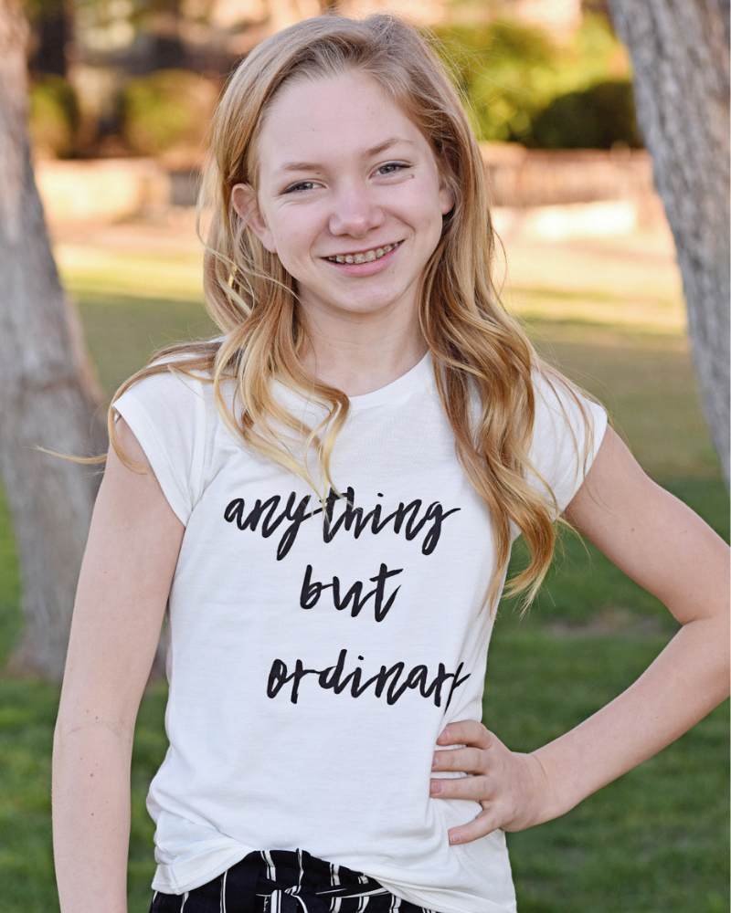 Anything But Ordinary Tee