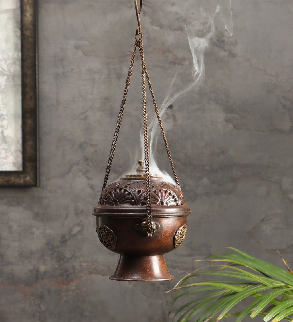 The Smokey Goblet (Brown) - Incense Holder