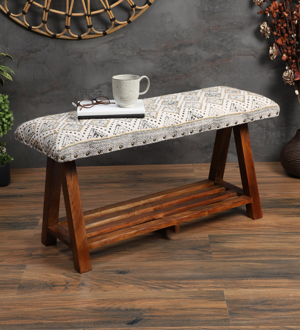 Handcrafted Contemporary Bench (Single)