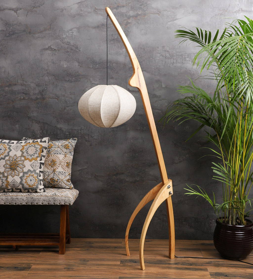 The Tripod Arc Floor Lamp