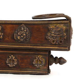 The Antiquey Boat - Incense Holder (with drawer)