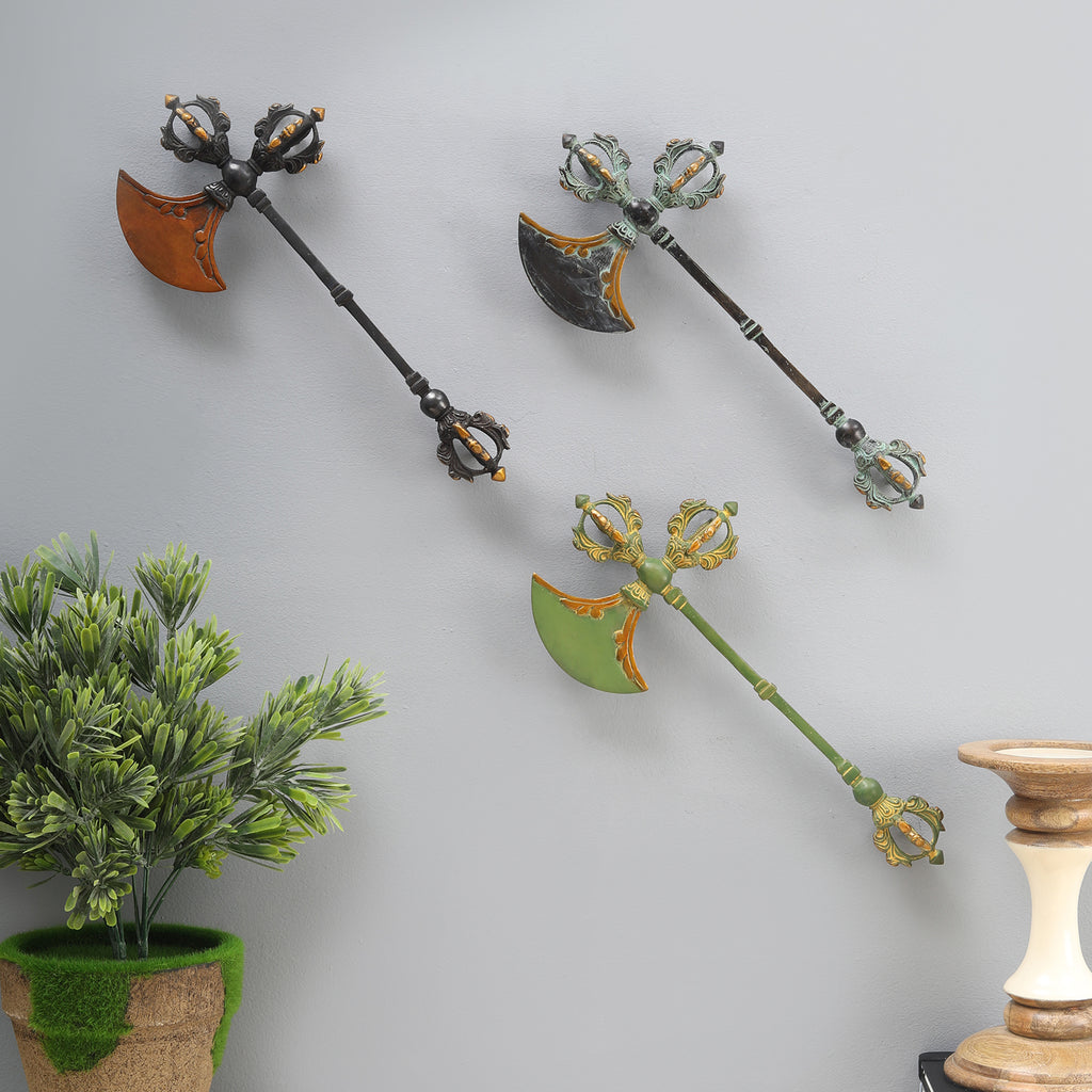 The Nepalese Axe (Single Wall/Table Top Decor)