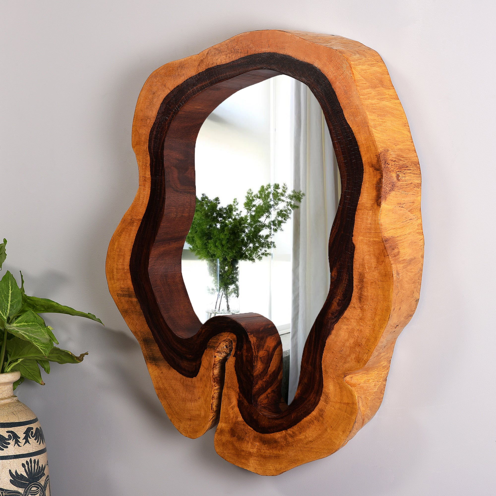 Tree Hollow Mirror