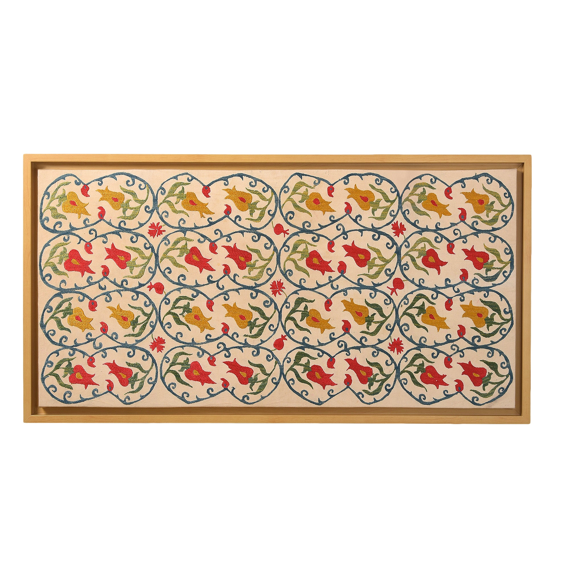 Turkish Motifs - Hand Embroidered Wall Art