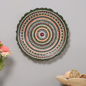 Artistic Motifs - Hand Painted Ceramic Wall Plate