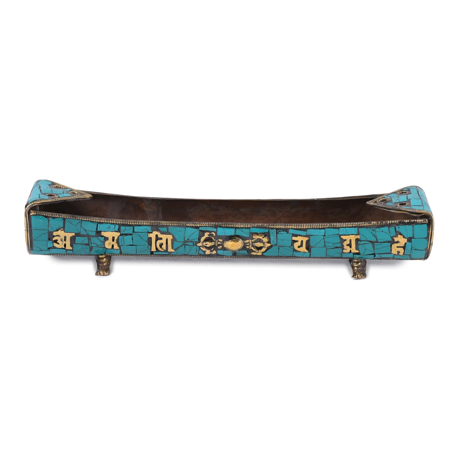 The Turquoise Boat - Incense Holder