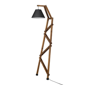 The Enlightened Man – Wall Leaning Floor Lamp