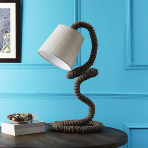 The Indian Rope Trick - Rustic Table Lamp
