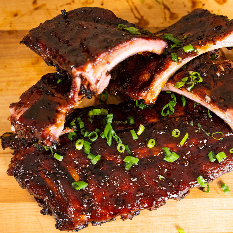 Sticky Honey Garlic Ribs