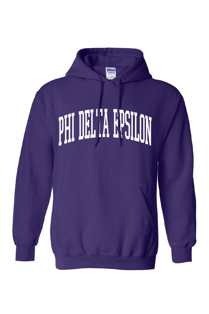 Collegiate Hooded Sweatshirt